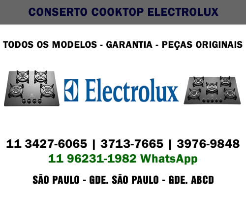 Conserto cooktop Electrolux