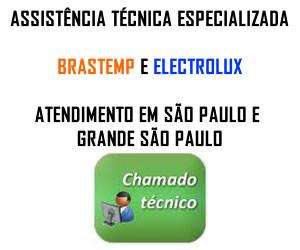 Chamado técnico Brastemp Electrolux