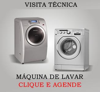 Visita técnica máquina de lavar