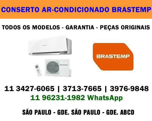 Conserto ar-condicionado Brastemp