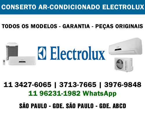 Conserto ar-condicionado Electrolux