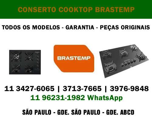 Conserto cooktop Brastemp