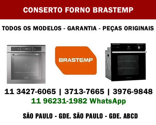 Conserto forno Brastemp