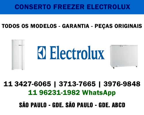 Conserto freezer Electrolux