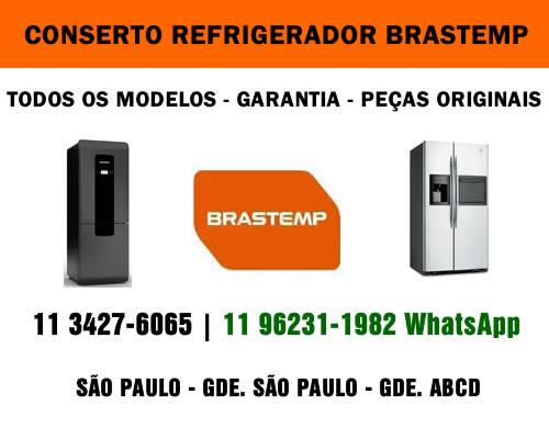 Conserto refrigerador Brastemp