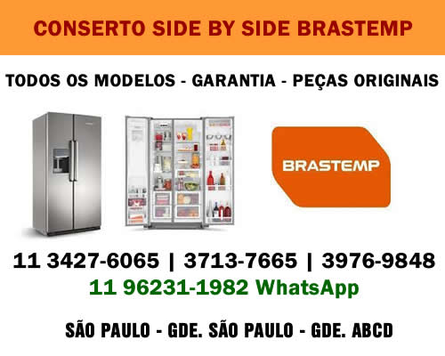 Conserto side by side Brastemp