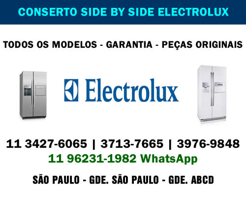 Conserto side by side Electrolux