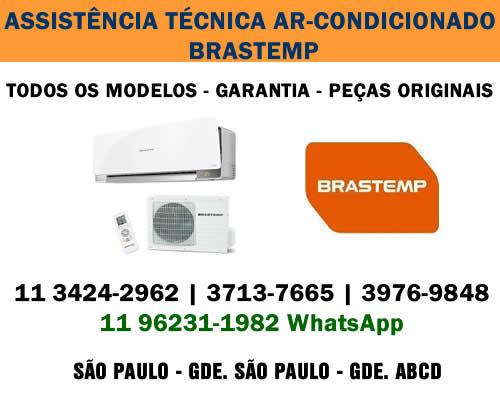Assistência técnica ar-condicionado Brastemp