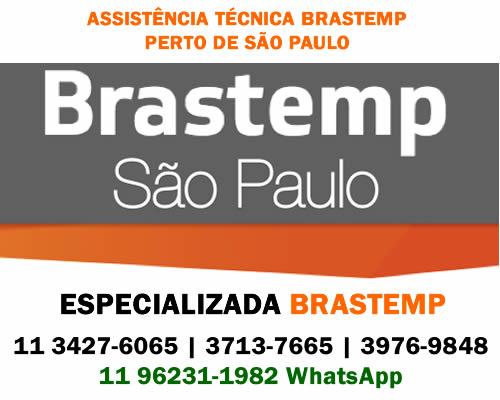 Assistência técnica Brastemp perto de São Paulo