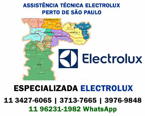 Assistência técnica Electrolux perto de São Paulo